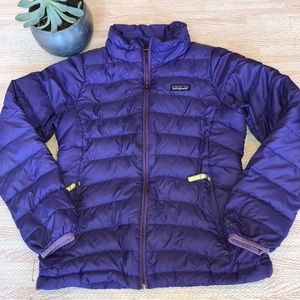 Patagonia Girl's Down Sweater, (flaw) Size Large